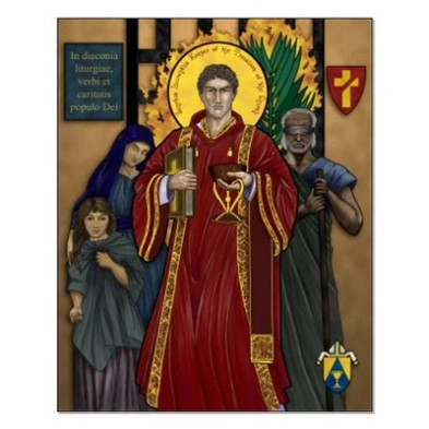 Image result for deacon lawrence the martyr